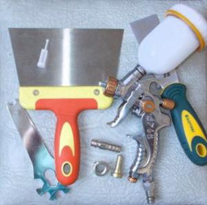 Инструменты для покраски автомобиля
