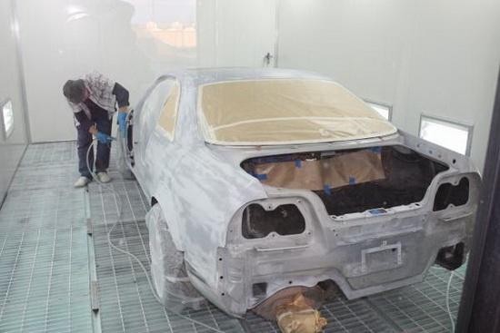 Подготовка и покраска автомобиля своими руками фото