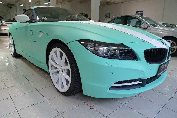 Бирюзовый цвет авто