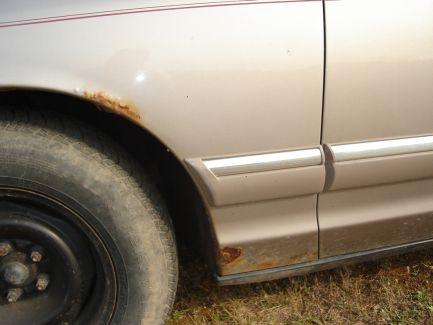 Убрать ржавчину с автомобиля своими руками