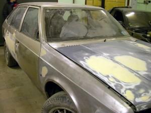 Подготовка кузова перед покраской