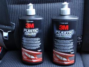 Специальный абразив и полироль для пластиковых фар 3М