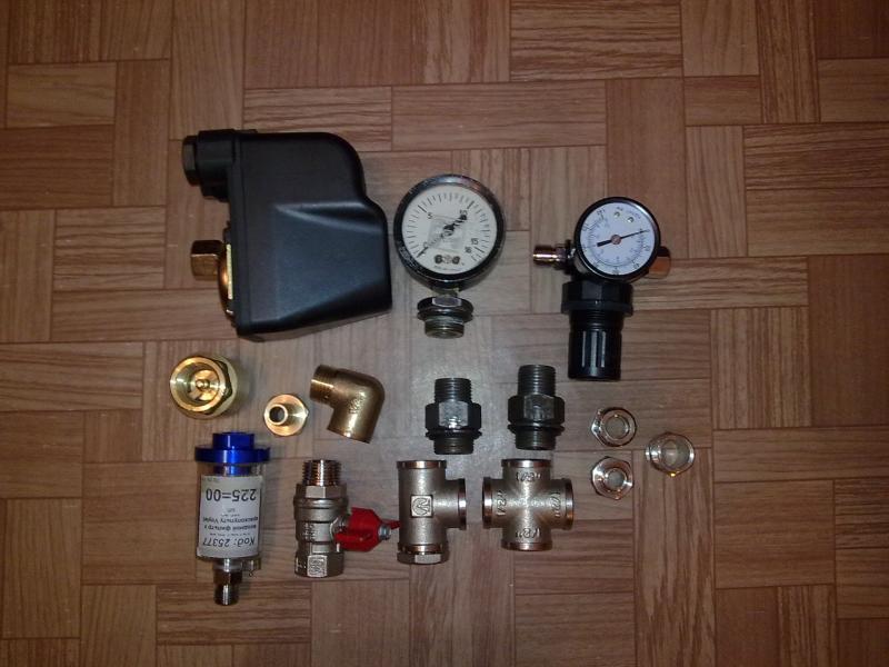 Что нужно для сборки компрессора