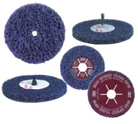 Круги для зачистки ржавчины