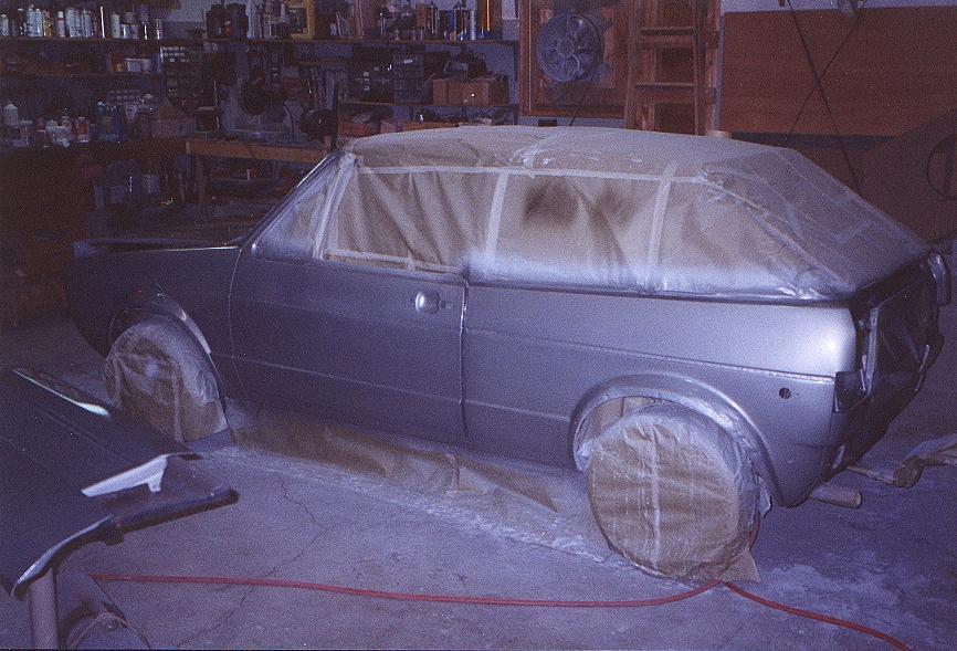 Покраска автомобиля в домашних условиях