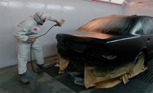 Полная покраска авто краскопуьлтом
