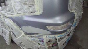 Подготовка автомобиля к покраске пятном