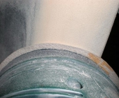 Шлифовка бампера через сутки после шпатлевки