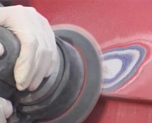 Шлифование авто перед покраской