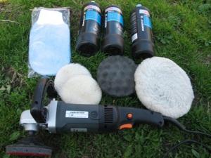 Материалы для глубокого полирования кузова