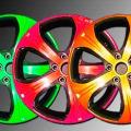 Разноцветные диски