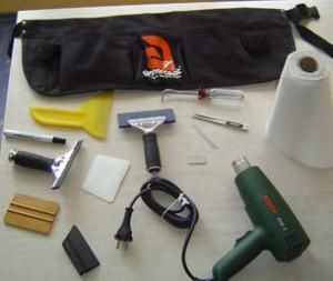 инструменты для тонировки